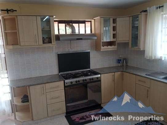 Furnished 3 bedroom house for rent in Karen image 12