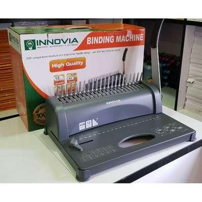 A4 Comb Binder Spiral Binding Machine Innovia image 2