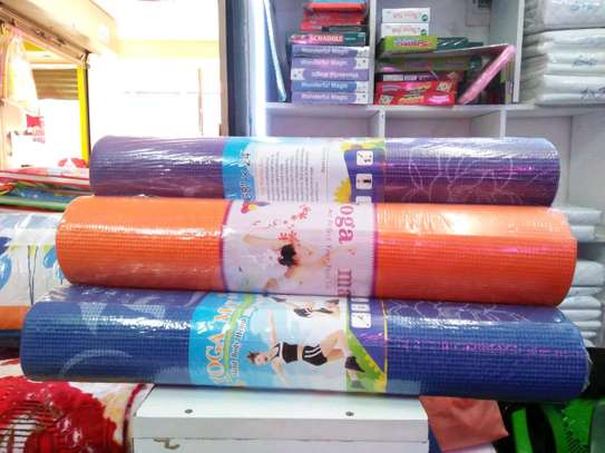 Colourful thick Yoga mats image 3