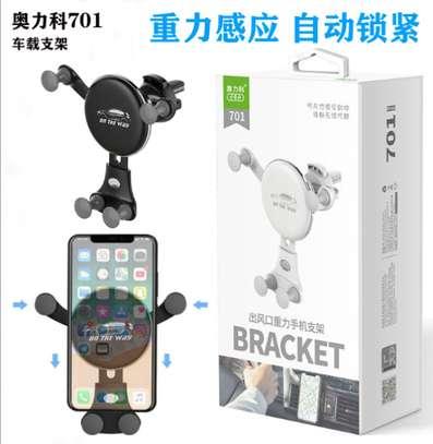Aoleaky bracket car air vent phone holder, model 701. image 2