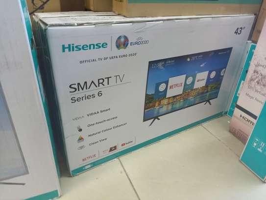 Hisense 43 smart digital image 1