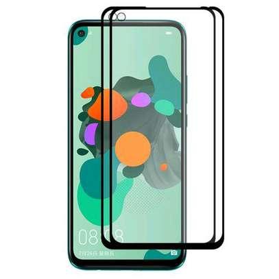 Full Coverage Film for Huawei Nova 5i Pro / Mate 30 Lite Full Glue 0.26mm 9H 2.5D Tempered Glass image 1