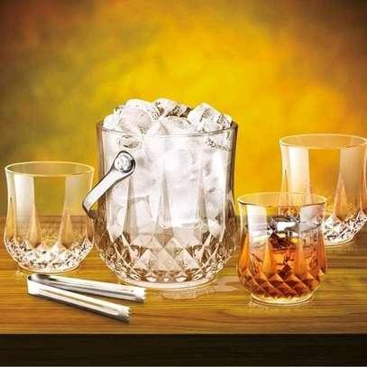 Ice cube bucket/ ice cube holder/bar ice cube holder image 1