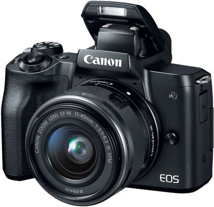 Canon EOS M50 Mirrorless Vlogging Camera Kit with EF-M 15-45mm lens image 2