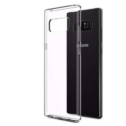 Clear TPU Soft Transparent case for Samsung Note 8 image 2