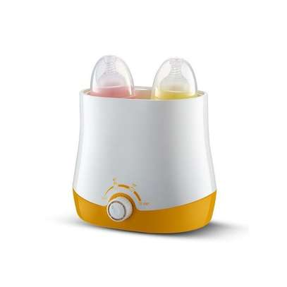 Baby DOUBLE Bottle Milk Warmer Multifunctional Heating Up Food And Sterilizing image 3