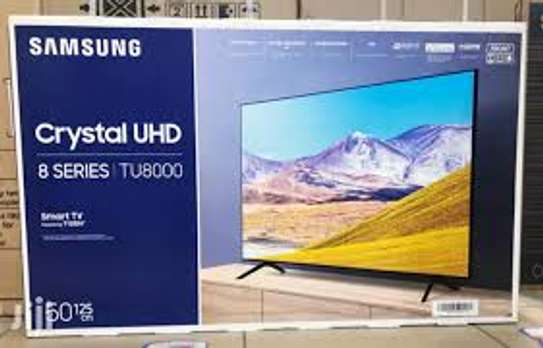 Samsung 50TU8000 Crystal UHD 4K Smart TV, 8 Series Frameless - 2020 image 1