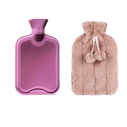 Hot Water Bottle With Cover-2L image 1