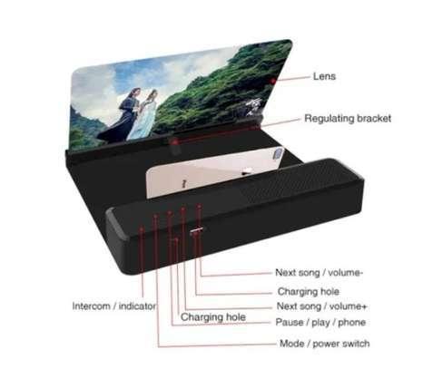 6D Phone Screen Bluetooth Speaker image 1