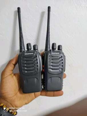 Baofeng BF 888s TWO Way Walkie Talkie  Radio Call image 1