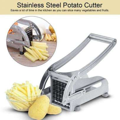Heavy Stainless Steel Chipsfries Potato Cutter-Chopper image 3