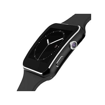 Smart Watch X6 Sleek Smartwatch Watch Phone For Android - Black image 1