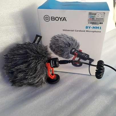 BOYA BY-MM1 Mini Cardioid Condenser Microphone image 1