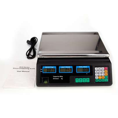 Brand New 40 Kg Digital Weighing Scale image 1