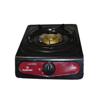 Rashnik Single Burner,Gas Stove, Non Stick - Grey image 1
