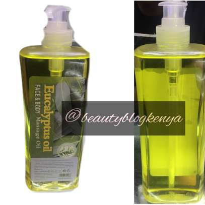 Eucalyptus Spa Salon Massage Oil 1 litre