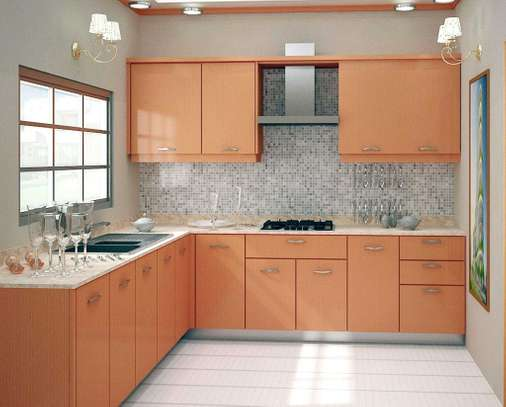 Kitchen cabinets and tops