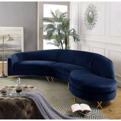 Six seater blue curved sofas for sale in Nairobi Kenya/Classic sofas and couches kenya image 1