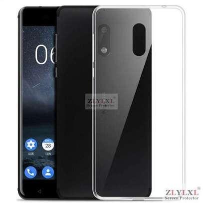Clear TPU Soft Transparent case for Nokia 6/6 2018 image 2