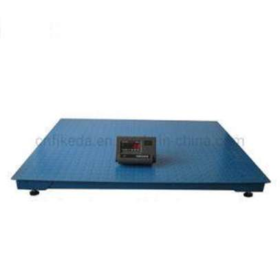 Industrial Platform Scale with Load image 1