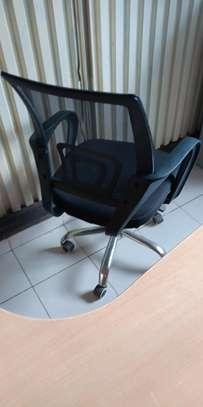 Office secretarial chair F13J image 1