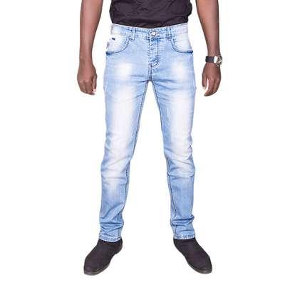 Blue Plain Jeans