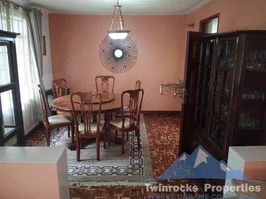 Furnished 3 bedroom house for rent in Karen image 10