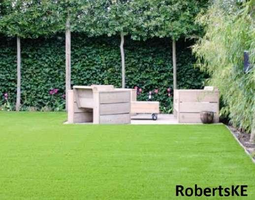 Artificial grass carpet 30 mm non slip image 1