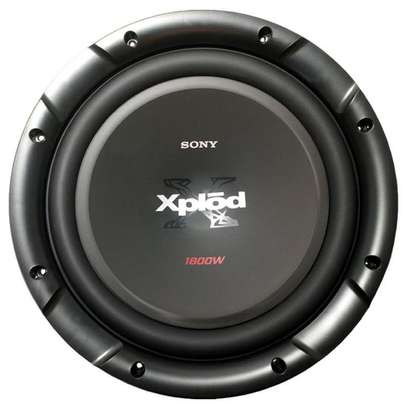"""SONY XS-NW1201 12"""" 1800W (420W RMS) 4 OHM SINGLE VOICE COIL CAR SUBWOOFER image 1"""