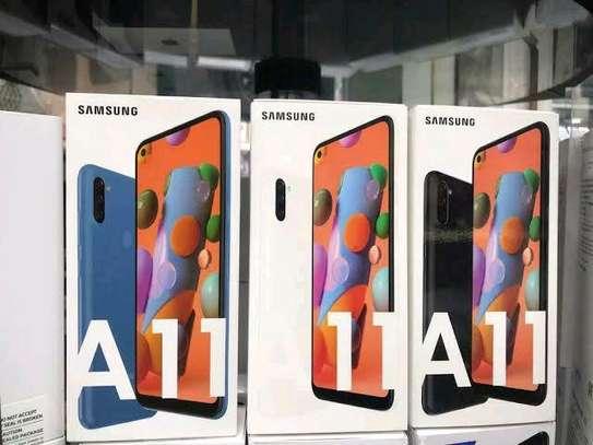 Samsung A11 new 32gb 2gb ram 4000mAh battery 13mp tripple camera image 1