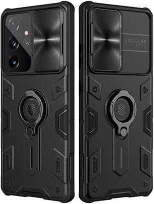 Nillkin Hard Armored CamShield Slide Camera Cover for Galaxy S21 Plus S21 Samsung S21 Ultra Camera Protection Case image 1