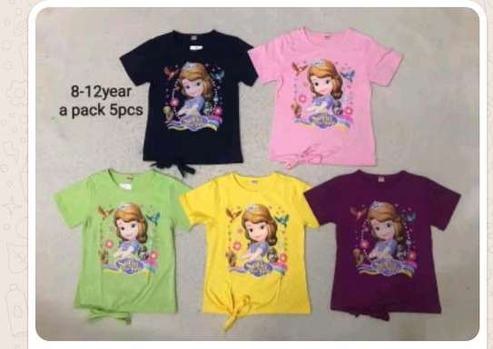 Cartoon kids top/t shirts image 1