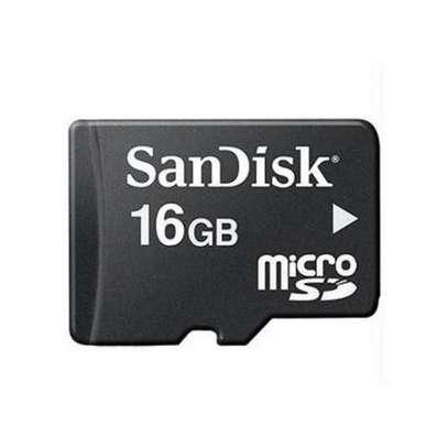 Sandisk High Speed Micro SD Card - 16GB Standard - Black image 2