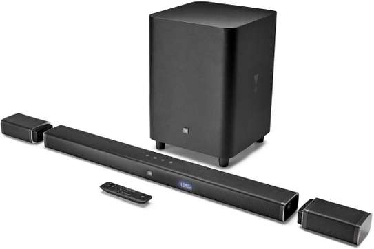 JBL 5.1-Channel 4K Ultra HD Soundbar with True Wireless Surround Speakers image 1