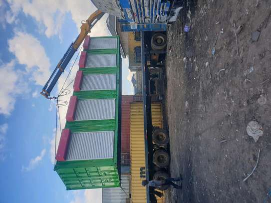 Container transport and offloading services image 1