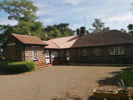 Three bedroom bungalow with dsq in karen image 1