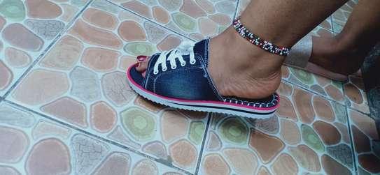 Ladies unique open shoes image 4