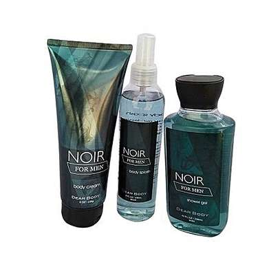 Dear Body 1 Noir for Men Body Cream, 1 Body Splash + Shower Gel image 1
