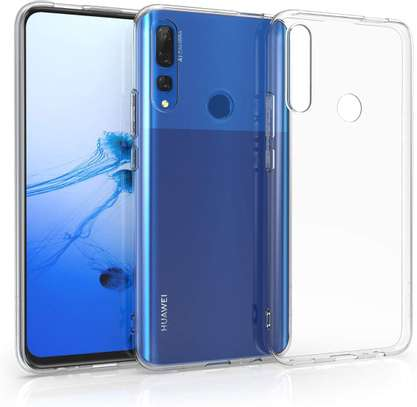 Clear TPU Soft Transparent case for Huawei Y9 Prime 2019/Y7 Prime 2019 image 2