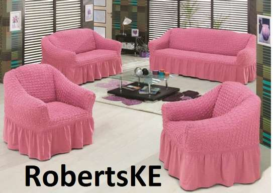 pink sofa cover image 1