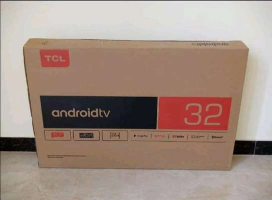 32 TCl Android Smart Frameless - Black - NetFlix image 1