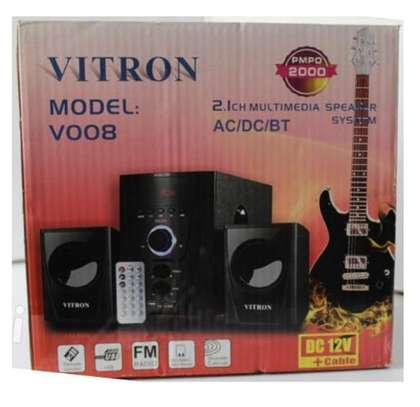 Vitron SUBWOOFER WITH BOOMING BASS, BLUETOOTH AC/DC 2000W image 1