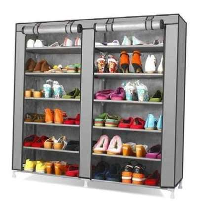 Portable shoe rack - Grey