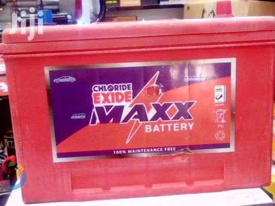 Chloride Exide N70/12/SBR MAXX Battery 100ah image 1
