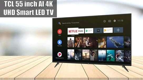 TCL 55 Inch HDR 4K UHD Smart Multi-System LED TV image 1