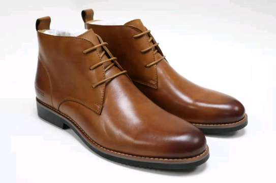 Authentic Leather Official Casual Shoes Sizes 39 to 45 Price 4500 image 1