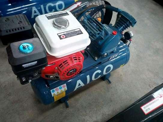 Petrol powered air compressor