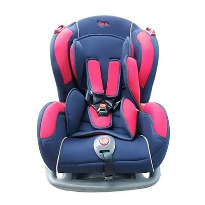 Big Infant Car Seat with a reclining Base- Blue & red( 0-7 years) image 1
