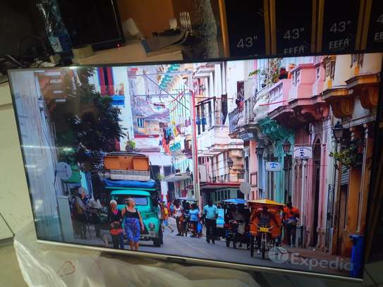 "Skyworth 43"" smart android frame less TV"