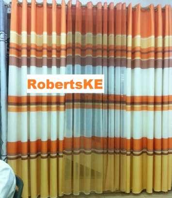 curtains orange mix image 1
